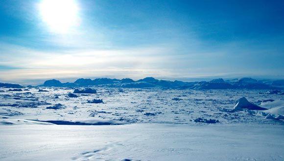 Температура воздуха в Арктике достигла рекордных показателей c 1900 года