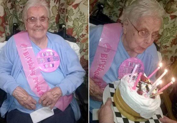 Агнес Фентон из Шотландии продолжает пить джин и в 105 лет