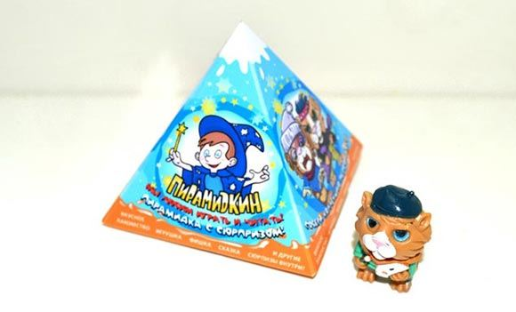 На Алтае начали производить аналог «Киндер-сюрприза» в форме пирамидки