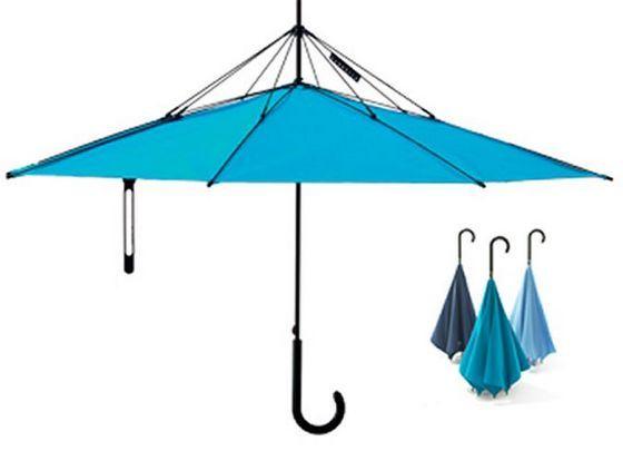 UnBRELLA необычный зонт-наоборот