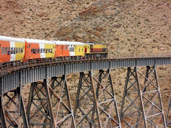 Tren a las Nubes - самая высокая железная дорога