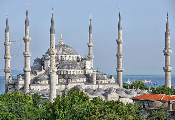 Богатейшие мечети в Стамбуле