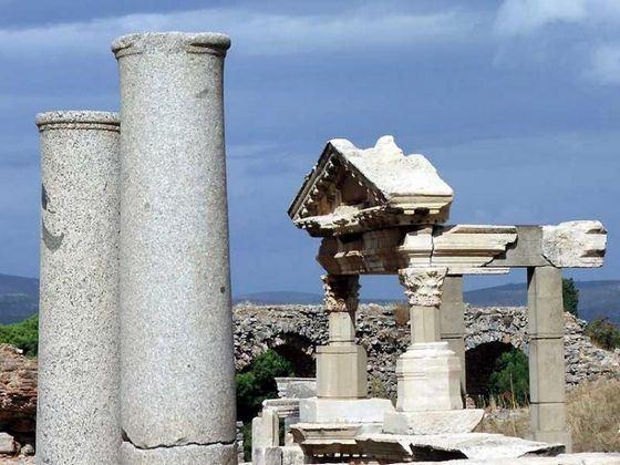 Троя - самая известная достопримечательность в Турции