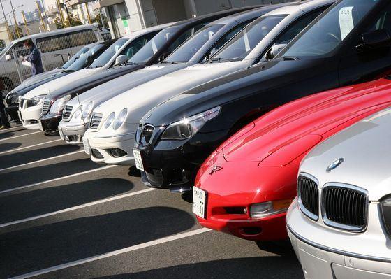На интернет-аукционах продают даже автомобили