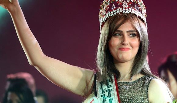 Шальма Абдельрахман победила на конкурсе «Мисс Ирак»