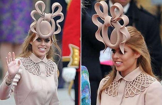 Странная шляпка принцессы Беатрикс