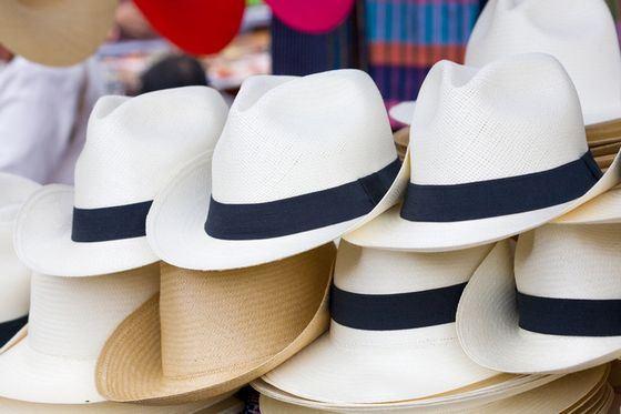 Популярные шляпы-панамы