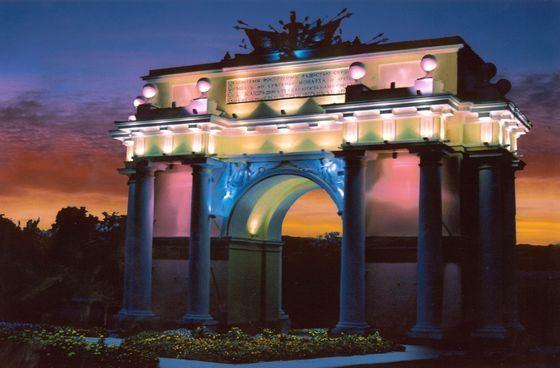 Восстановленная триумфальная арка в Новочеркасске