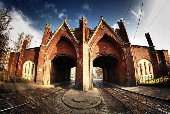 Брандербургские ворота есть не только в Берлине, но и в Калининграде