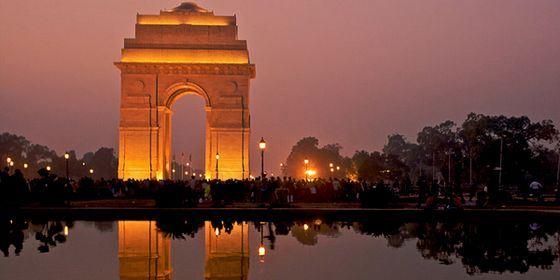 Триумфальную арку в Мумбаи сравнивают с французской достопримечательностью