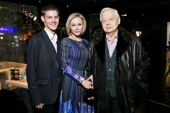 Павел с родителями