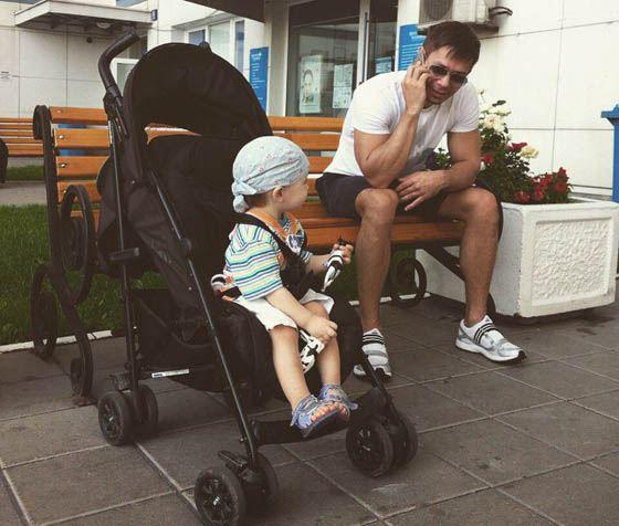 Стас с сыном