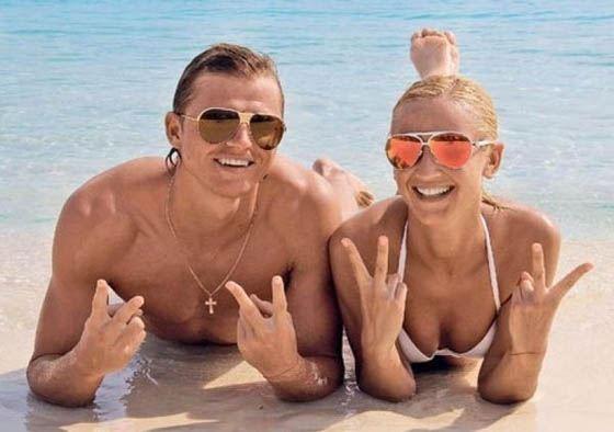 Ольга Бузова с мужем на отдыхе