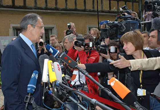 Sergey Lavrov often gives interviews and does not hide from journalists