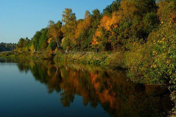 Измайловский парк - одно из красивейших мест в Москве
