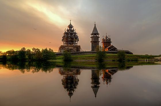 Church of the Transfiguration in Kizhi