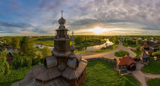 Transfiguration Church in the Suzdal Museum of Architecture