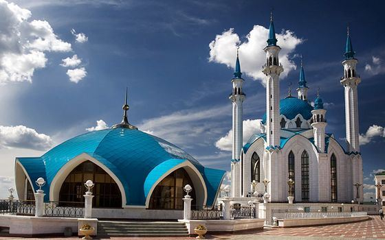 The largest mosque in Tatarstan