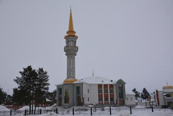 Cathedral Mosque in Surgut - the largest in Siberia