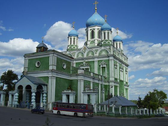 Voznesensky Cathedral in Yelets - the record for height and construction