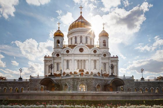 Christ the Savior Cathedral - the largest church in Russia