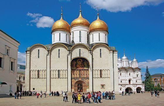 Успенский Собор в Москве - древнейший собор московского кремля