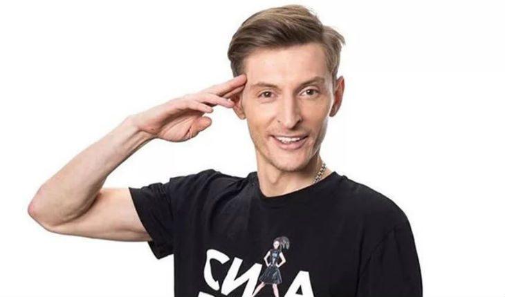 Эстрадный артист Павел Воля