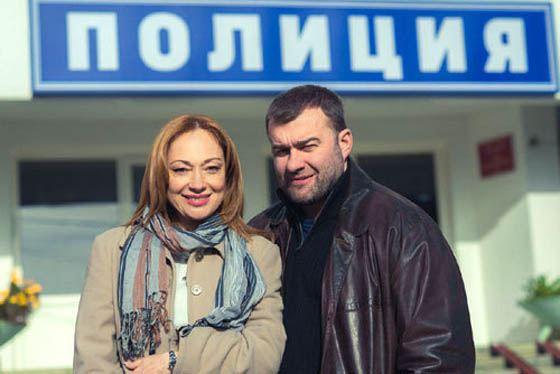 Виктория Тарасова и Михаил Пореченков