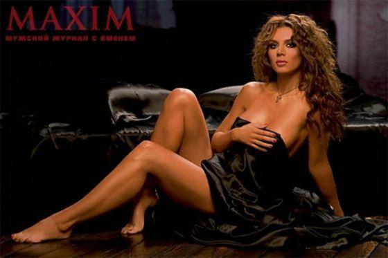 Анна Седокова снялась интересах журнала MAXIM