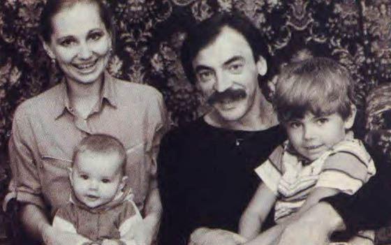Боярский с семьей