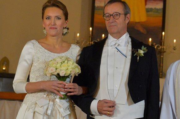 Эстонский президент женился на работнице Минобороны Латвии