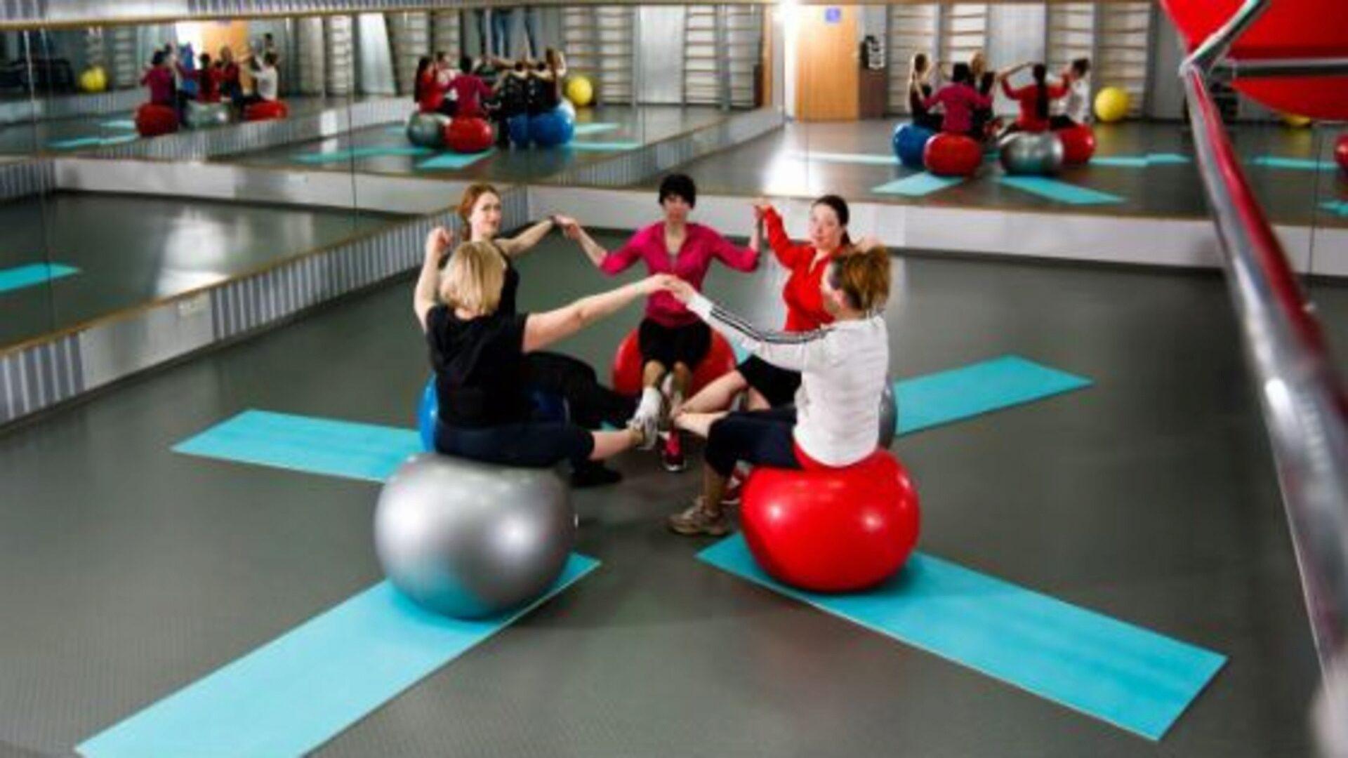 Упражнения с фитболом эффективны в период реабилитации