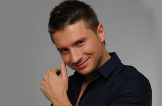 Сергей Лазарев - российский певец и актер