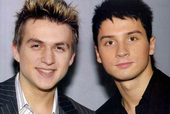 Группа Smash!! Сергей Лазарев и Влад Топалов