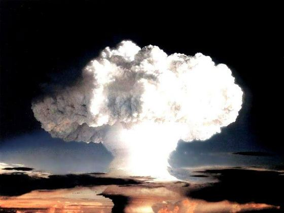 the a bomb planned or a reaction The story of the atomic bomb started around the turn of the fission of uranium atoms and causing a chain reaction  planned to use two competing.