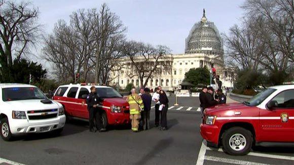 В здании Конгресса США из-за токсичного вещества госпитализированы 8 человек