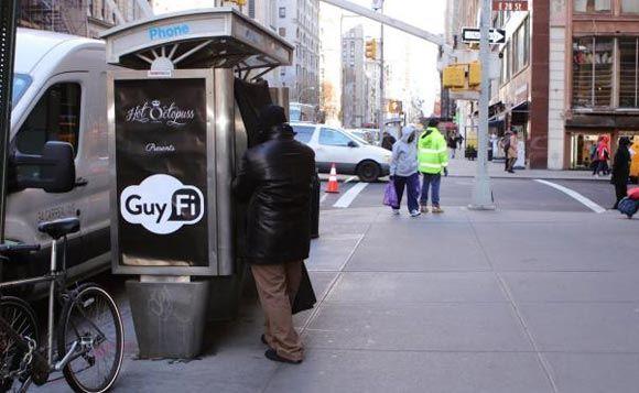 В центре Нью-Йорка появилась будка для мастурбации