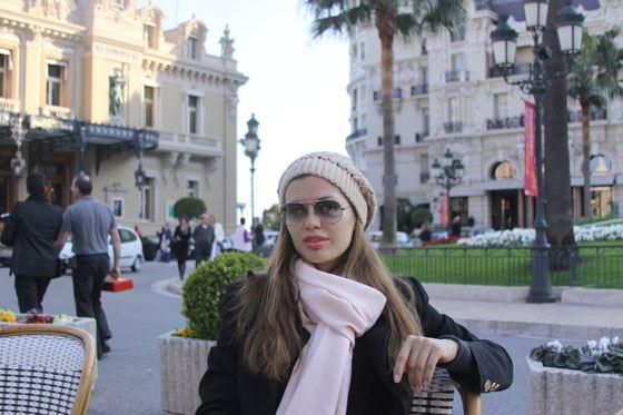 Виктория Боня в Монте-Карло