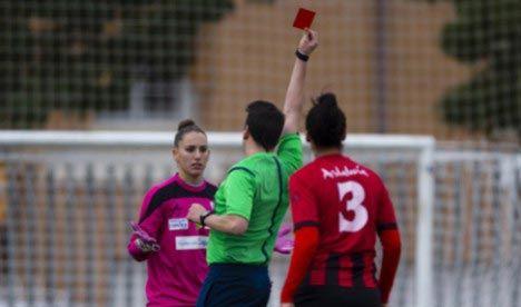 Испанская футболистка обвинила арбитра в сексизме