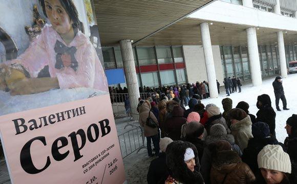 Выставку Валентина Серова в Третьяковки продлили на неделю