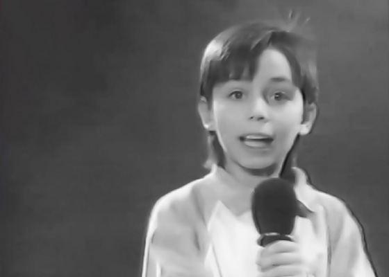 Rodion Gazmanov in childhood