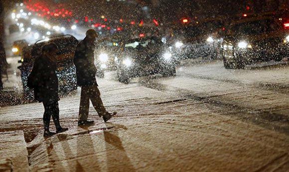 Как минимум 18 человек погибли в США из-за сильного снегопада