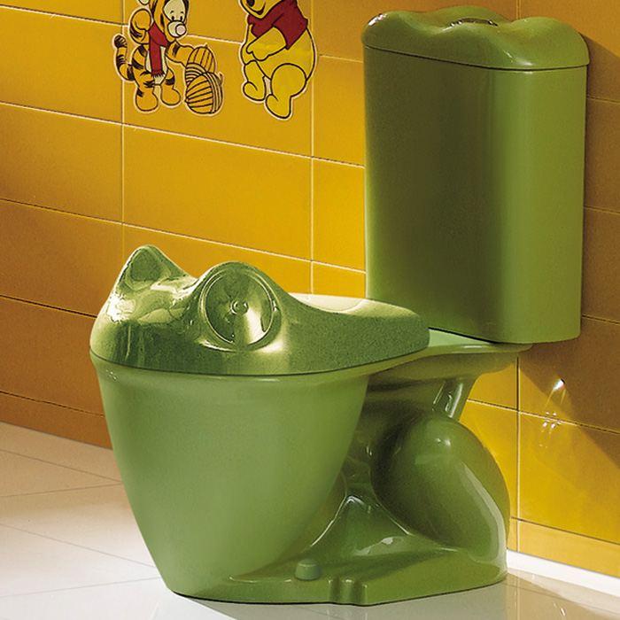 Оригинальное украшение туалета