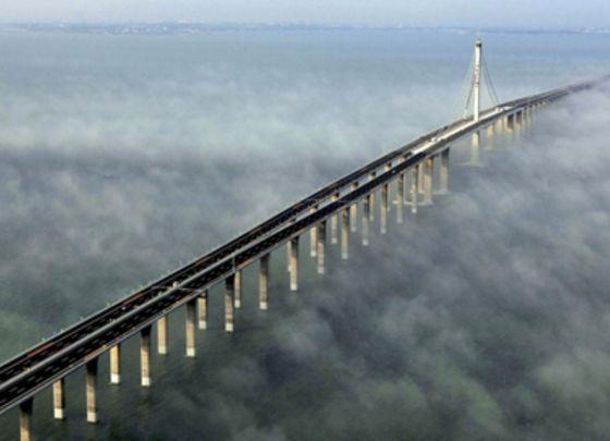 Тяньцзиньский виадук - один из длиннейших в мире