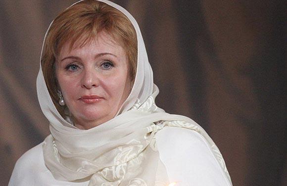Людмила Путина вышла замуж и сменила фамилию на Очеретную