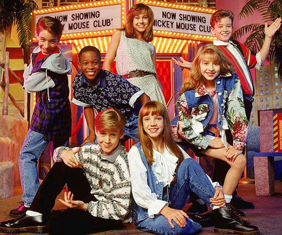 Ryan Gosling in the «Mickey Mouse Club»