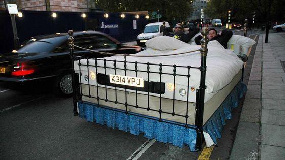 Самая быстрая кровать сделана на базе автомобиля