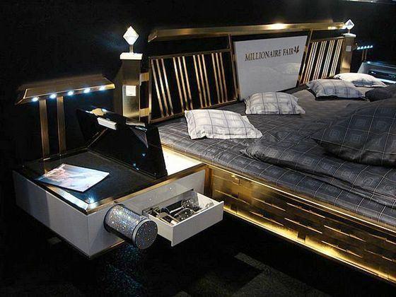 Дорогая и высокотехнологичная кровать