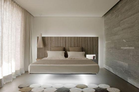 Самой необычной на сегодняшний день признана кровать, парящая на магнитах