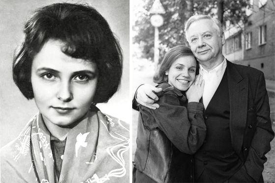 Людмила Крылова, Марина Зудина и Олег Табаков